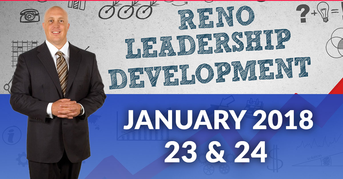 Leadership training program in Reno with Jeffrey Benjamin of Breakthrough Training