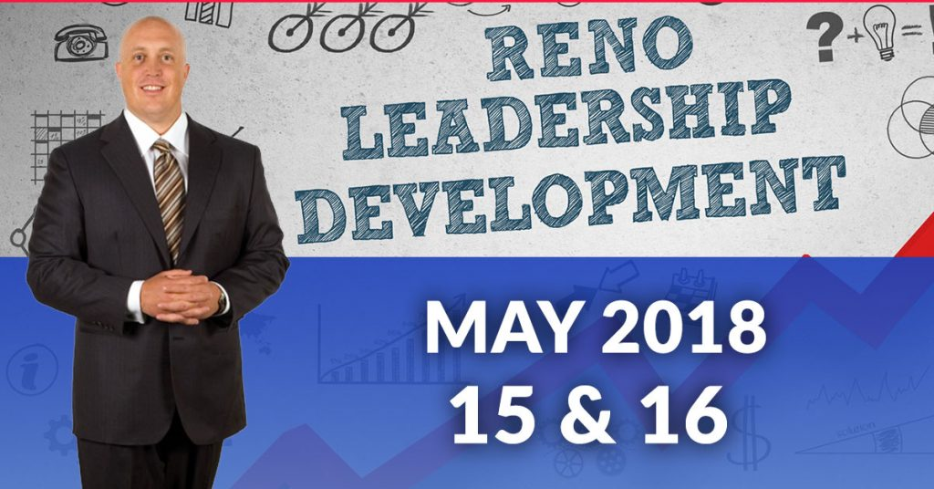 leadership training in reno may 15 16 2018