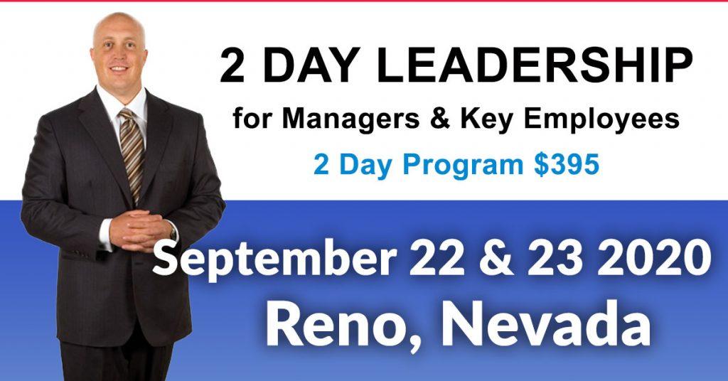 June 23 2020 Events.Leadership Training Workshop Reno June 23 24 2020
